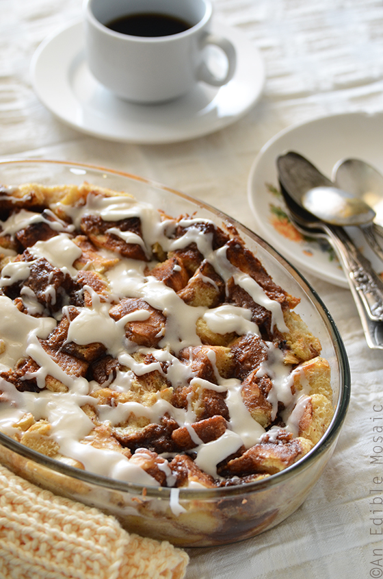 Cinnamon Bun Bread Pudding 2