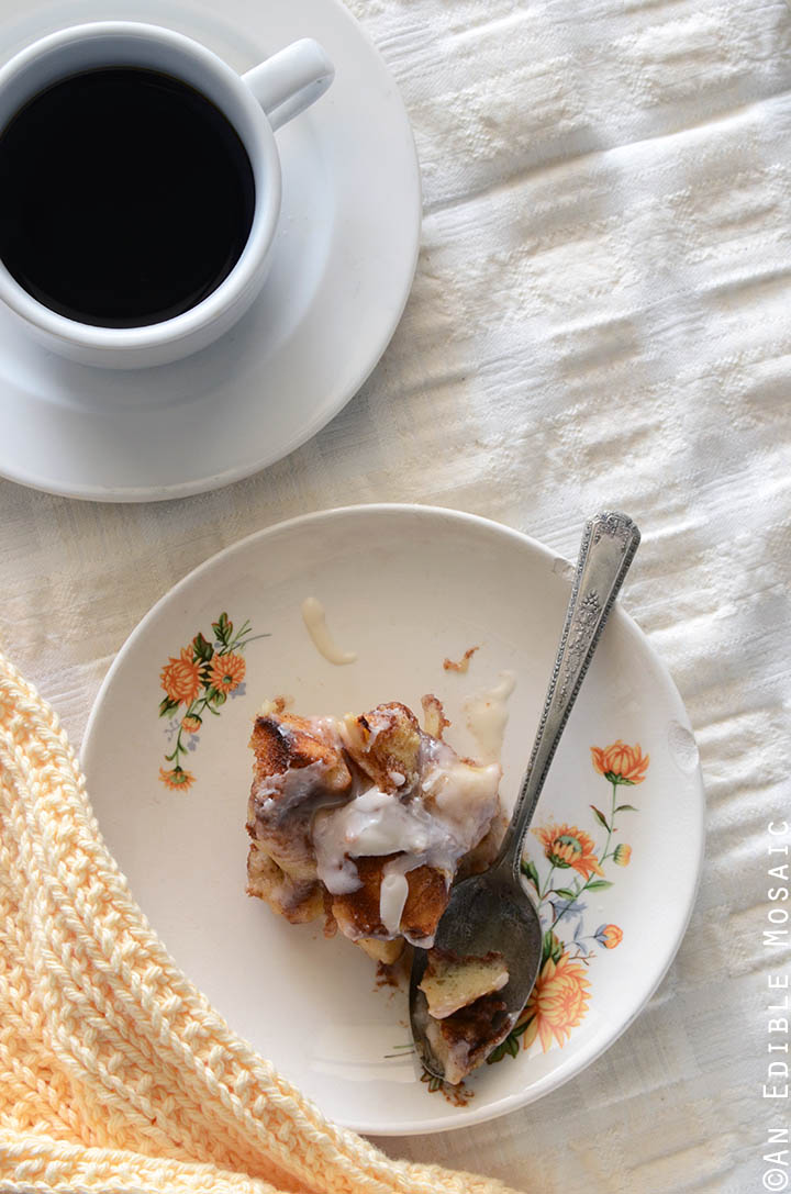 Cinnamon Bun Bread Pudding Recipe 3
