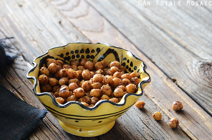 Falafel-Spiced Roasted Chickpeas 3