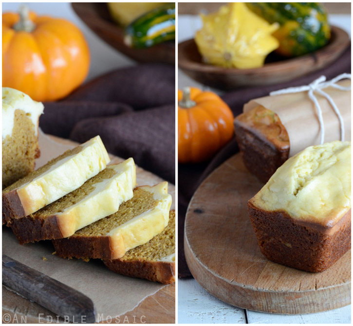 Pumpkin and Cheese Spice Bread 2