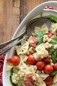 BLT Pasta Salad Featured Image