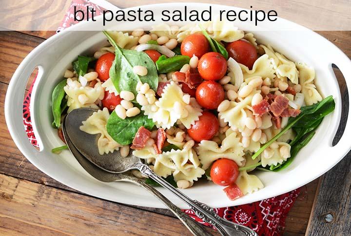 BLT Pasta Salad Recipe with Description