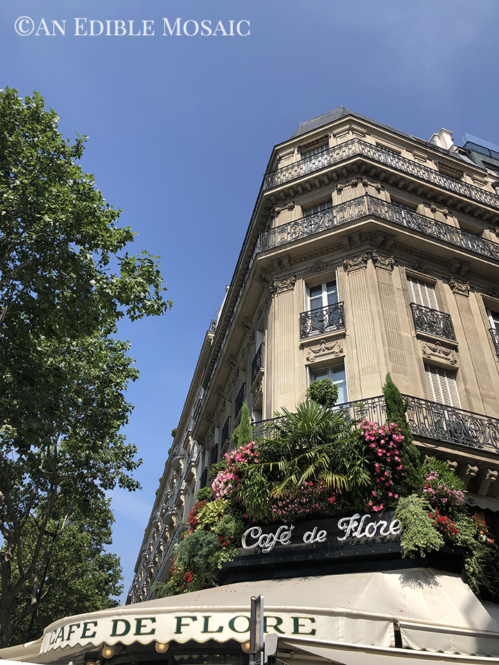 Cafe de Flore Outside