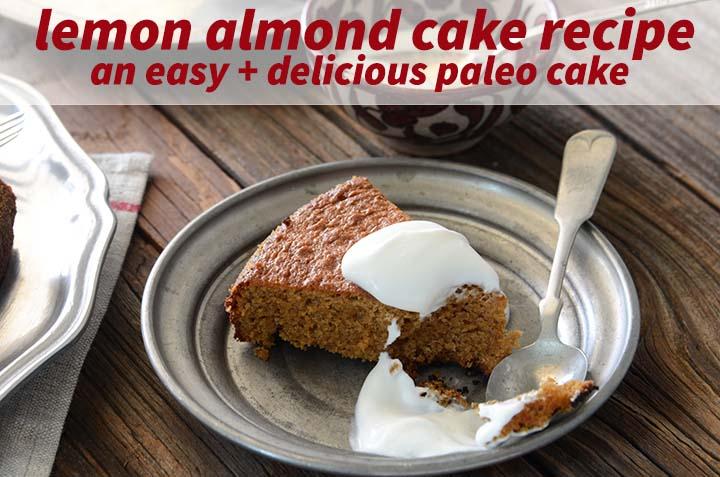 Lemon Almond Cake Recipe with Description