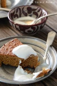 Lemon-Vanilla Almond Cake {Paleo}