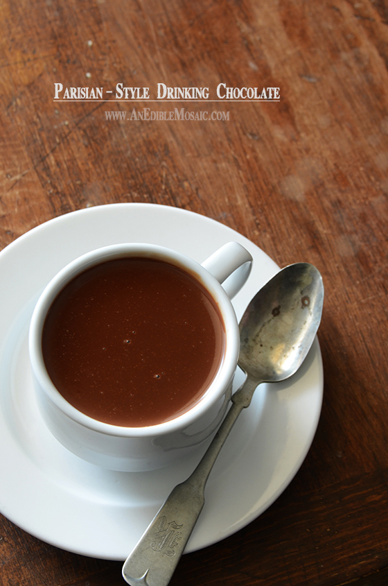 Parisian-Style Drinking Chocolate