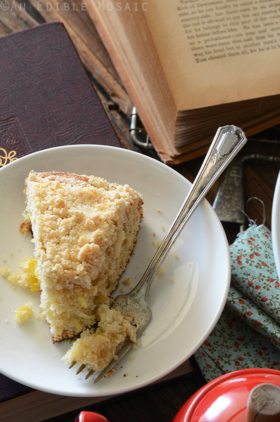 Pineapple Cardamom Coffee Cake with Coconut Crumb Topping 3