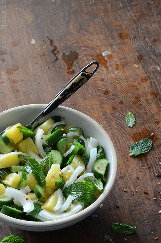 Savory Pineapple Salad 2