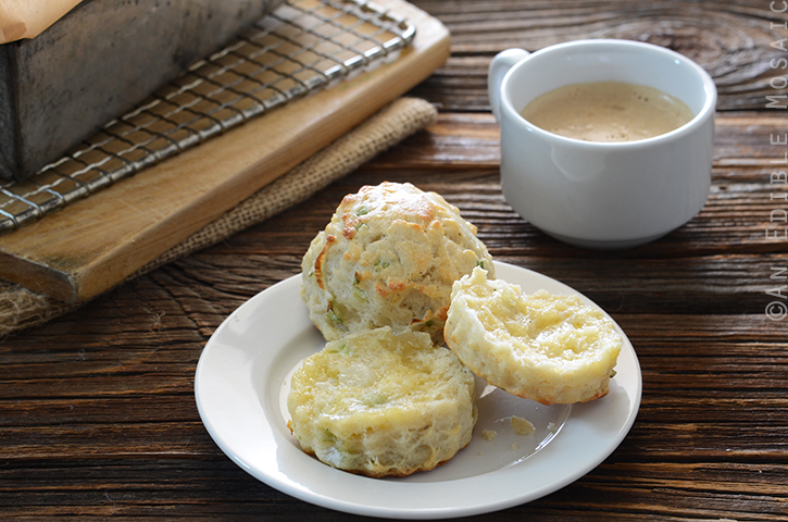 Savory Scallion and Cheese Scones 4