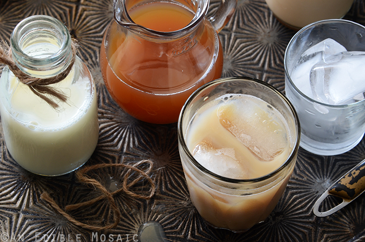 Honey-Vanilla Masala Chai Syrup for Iced or Hot Lattes 4