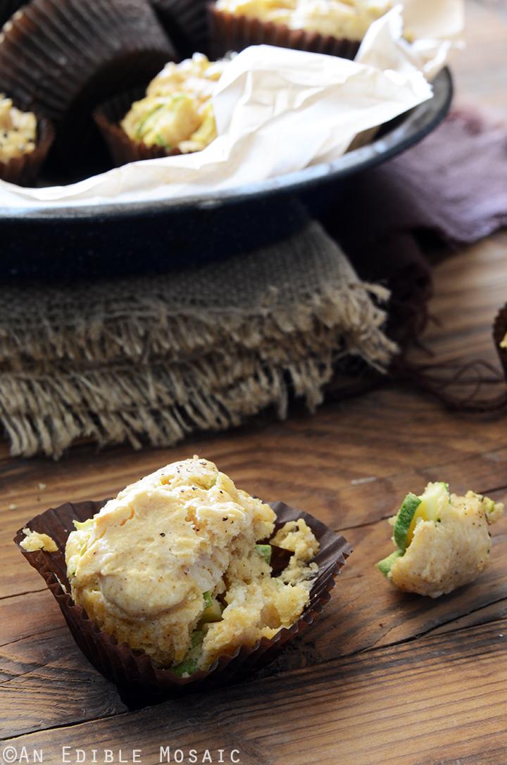 Savory Spiced Sour Cream Zucchini Muffins Recipe 3