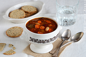 Two-Bean Vegetable Soup