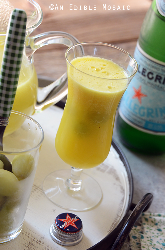 "Sparkling Citrus Pineapple Ginger ""Sangria"" Mocktail 2"