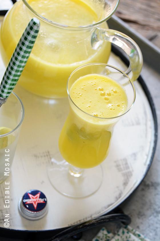 """Sparkling Citrus Pineapple Ginger """"Sangria"""" Mocktail 4"""