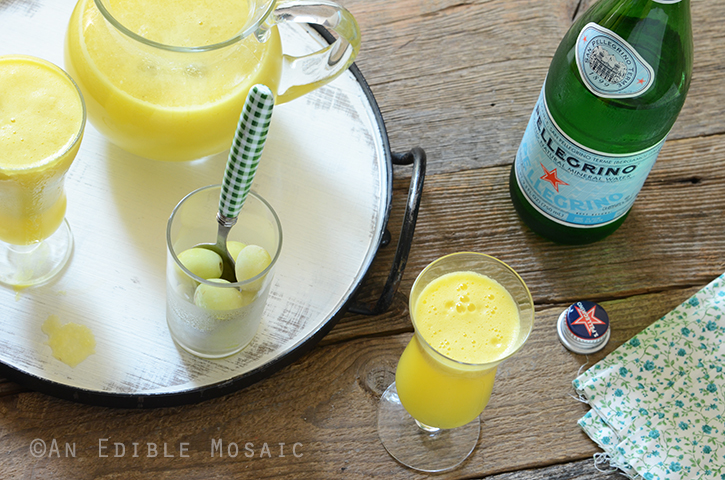"Sparkling Citrus Pineapple Ginger ""Sangria"" Mocktail 5"