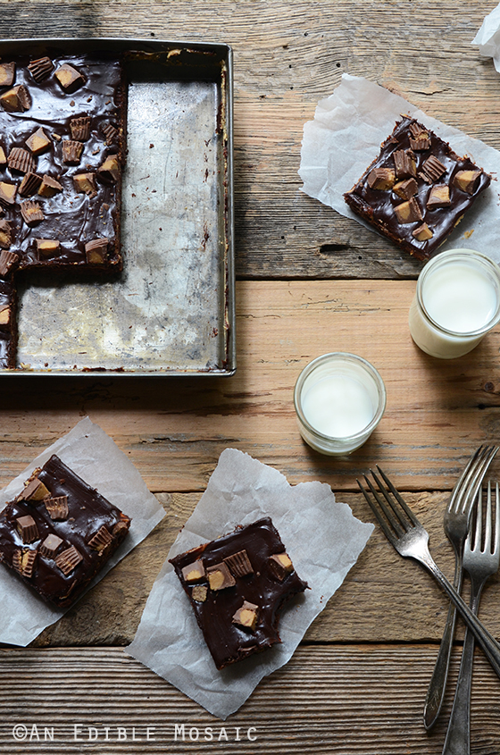 Chocolate and Peanut Butter Lover's Brownies
