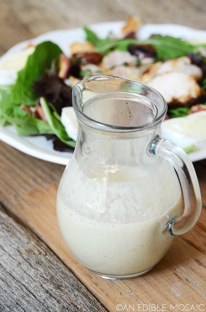 homemade creamy salad dressing