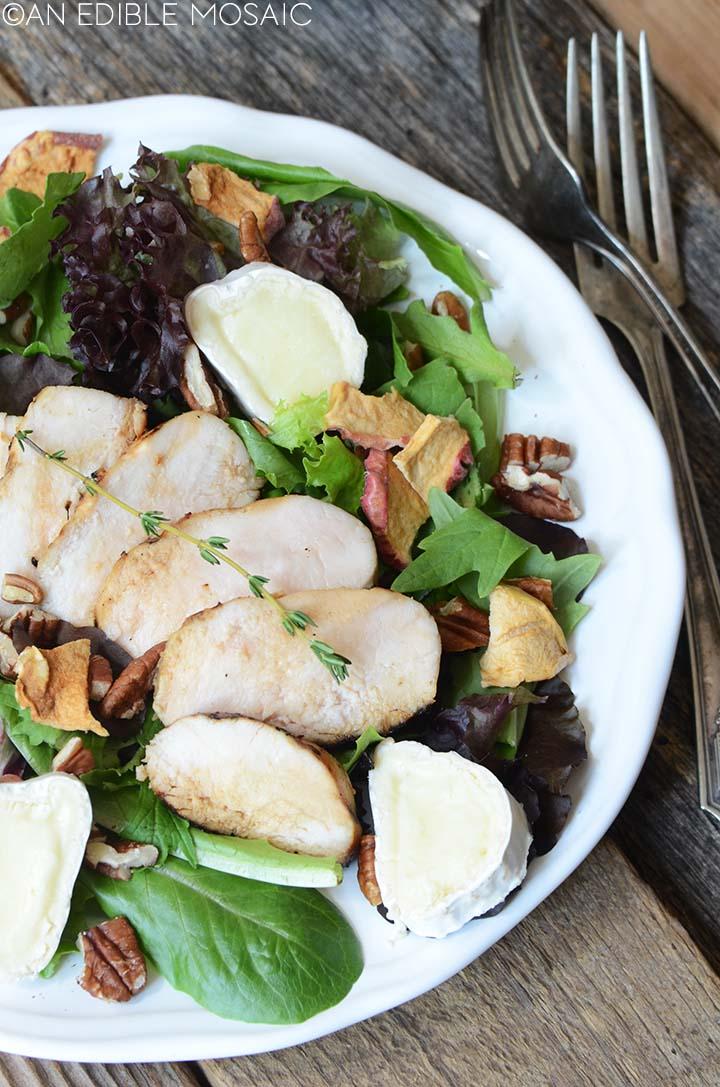 marinated chicken salad with apple