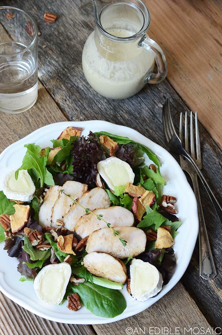 marinated grilled chicken salad