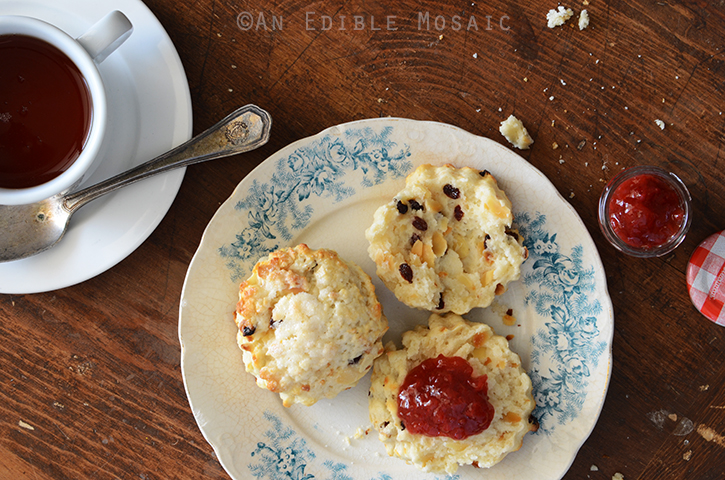 Cranberry Almond Scones 4