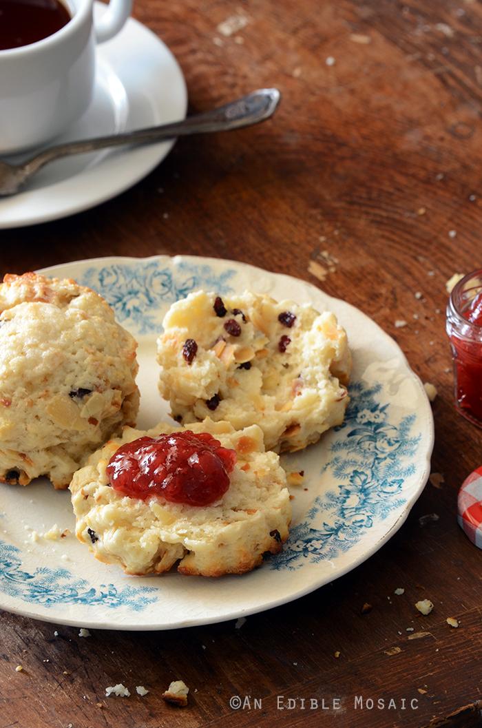 Cranberry Almond Scones