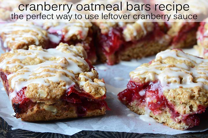 Cranberry Oatmeal Bars Recipe with Description