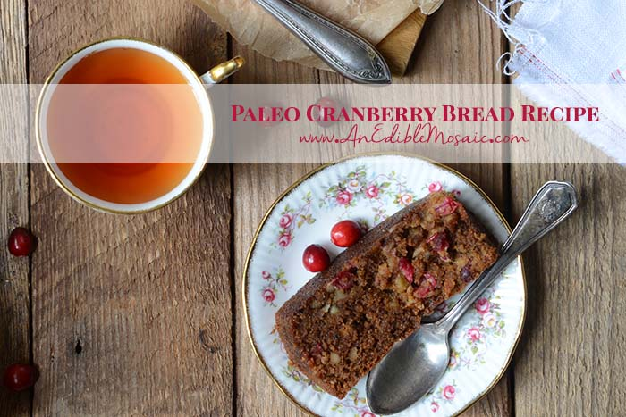 Paleo Cranberry Bread Recipe with Description