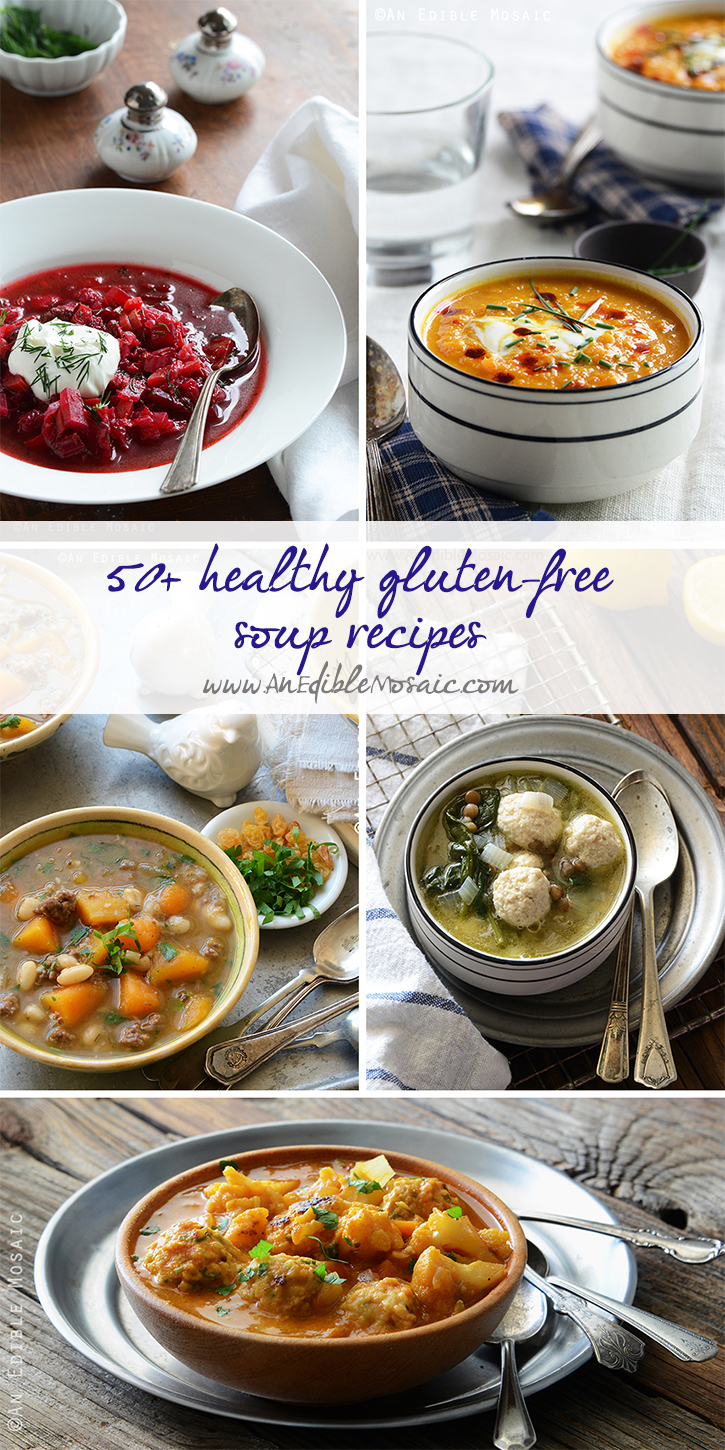 50+ Healthy Gluten-Free Soup Recipes