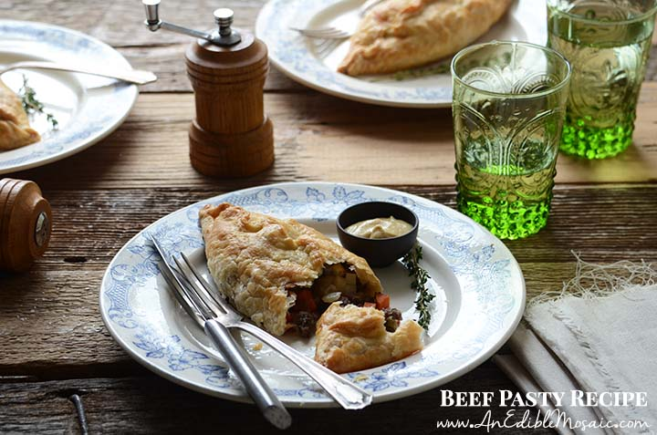 Beef Pasty Recipe with Description
