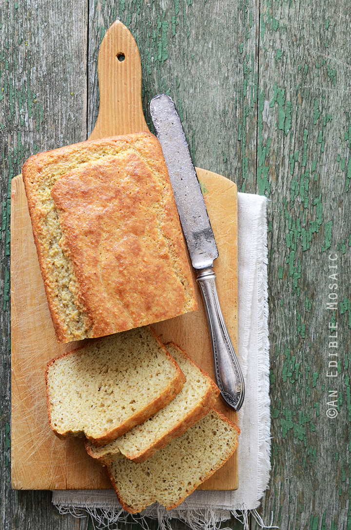 Best Paleo Sandwich Bread from anediblemosaic.com. I'm always looking for new homemade Paleo bread recipes and this looks super good! So much better than store bought bread! Collected on FoodKollective.com