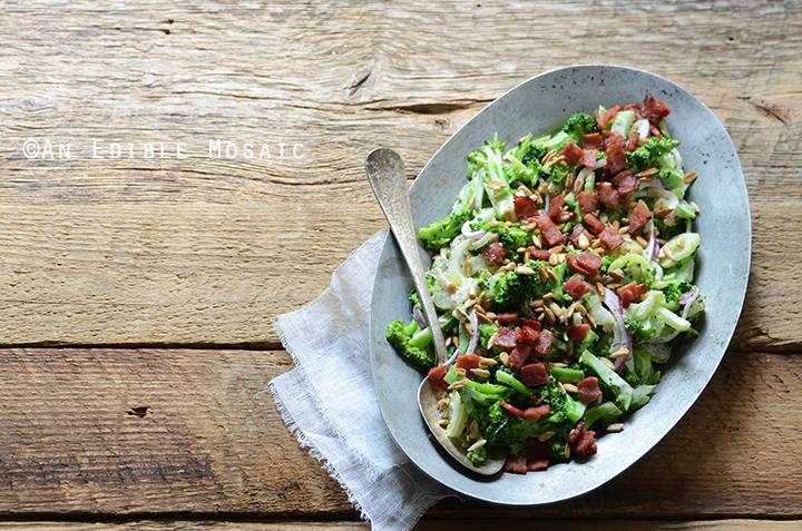 Crunchy Broccoli Salad with Creamy Dressing 4