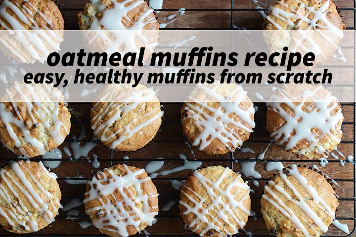 Oatmeal Muffins Recipe with Description
