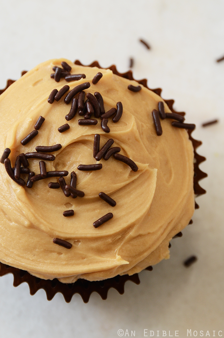 Vanilla Bean Guinness Cupcakes with Salted Coffee Caramel Buttercream 3