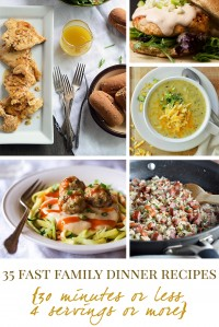35 Fast Family Dinner Recipes