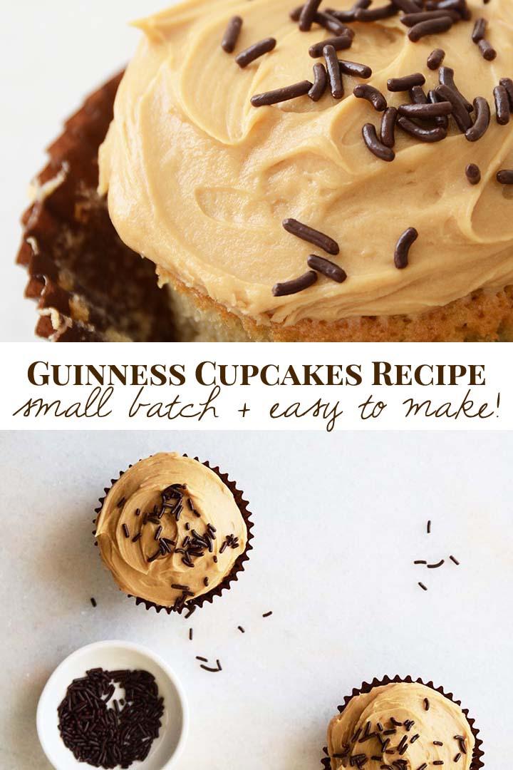 Guinness Cupcakes Recipe Pin