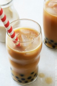 Iced Bubble Coffee {And a Coffee Giveaway!}
