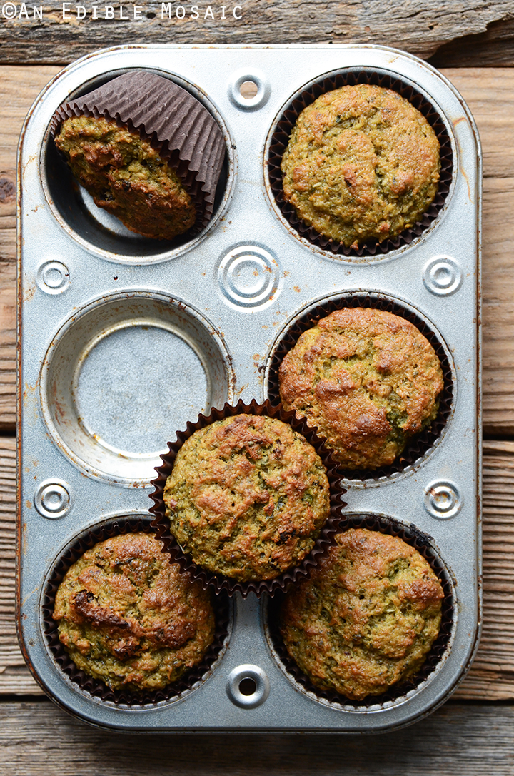 Morning Glory Muffins with Juice Pulp 2