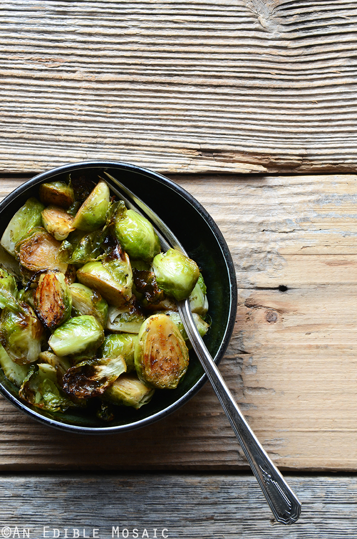 Orange-Jasmine Brussels Sprouts