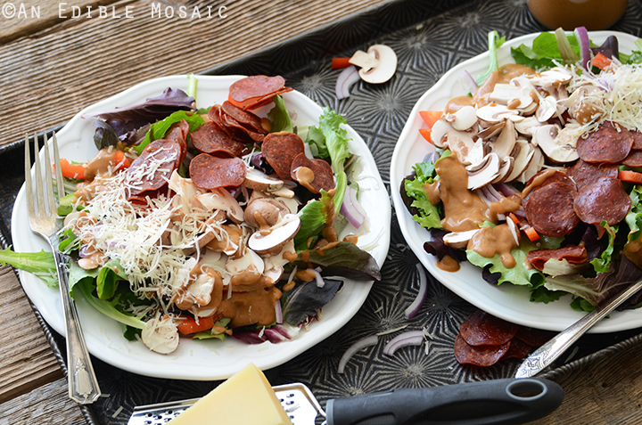 Pizza Salad 5
