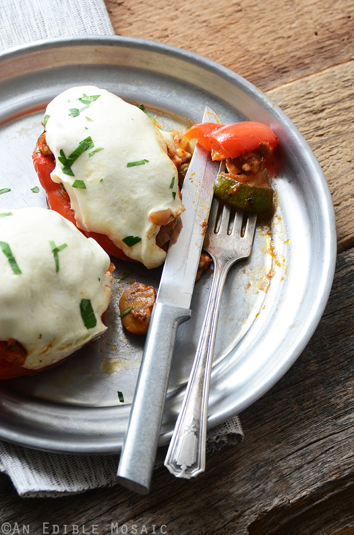 Pizza Stuffed Peppers 3