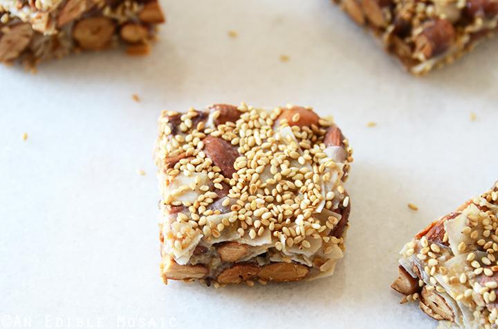 Sweet and Savory Teriyaki Nut Squares {Paleo} 4