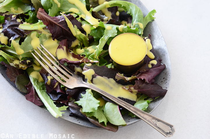 Sweet and Spicy Mango Vinaigrette 4