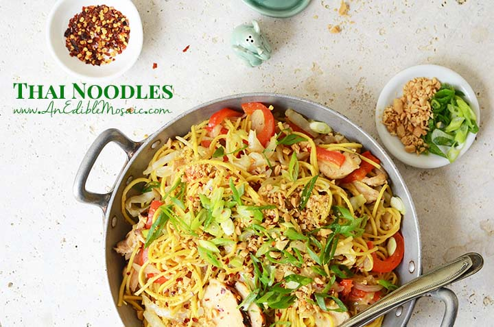 Thai Noodles with Description