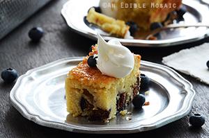 Golden Vanilla-Fig Cake
