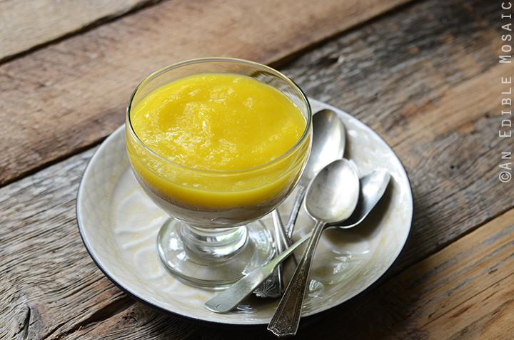 Cardamom-Spiced Tapioca Pudding with Fresh Mango Sauce 4