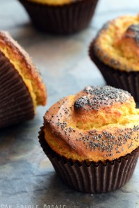 Mango Lassi Poppy Seed Muffins