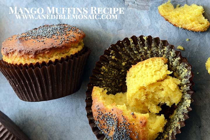 Mango Muffins Recipe with Description