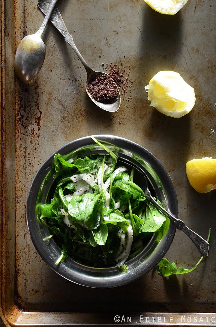 Tangy Arugala Salad with Sumac (Salatat Jarjeer) 2