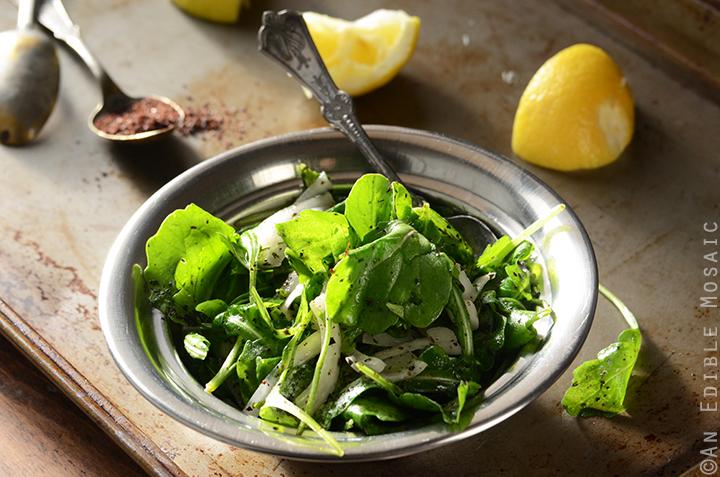 Tangy Arugala Salad with Sumac (Salatat Jarjeer) 4