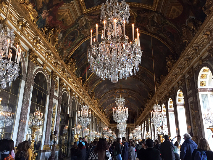 Versailles Hall of Mirrors 1